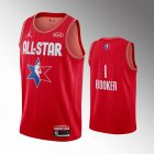 camiseta Devin Booker#1 nba all star 2020 rojo