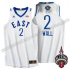 camisetas baloncesto john wall #2 nba all star 2016 blanca