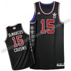 camiseta baloncesto DeMarcus cousins #15 nba all star 2015 negro