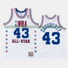 Camiseta Brad Daugherty 43 Cleveland Cavaliers All Star 1988 Blanco Hombre