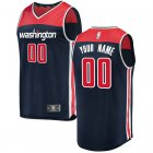 Camiseta Custom 0 Washington Wizards Statement Edition Armada Hombre