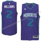camiseta marvin williams #2 charlotte hornets 2015 purpura