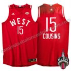 equipacion baloncesto DeMarcus cousins #15 nba all star 2016 roja