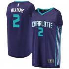 Camiseta Marvin Williams 2 Charlotte Hornets 2019 Púrpura Hombre