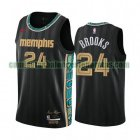 Camiseta Dillon Brooks 24 Memphis Grizzlies 2020-21 City Edition Negro Hombre