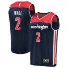 Camiseta John Wall 2 Washington Wizards Statement Edition Armada Hombre