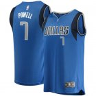 Camiseta Dwight Powell 7 Dallas Mavericks Icon Edition Azul Nino