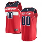 Camiseta Custom 0 Washington Wizards Icon Edition Rojo Hombre