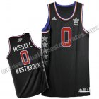 camiseta baloncesto russell westbrook #0 nba all star 2015 negro