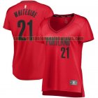 Camiseta Hassan Whiteside 21 Portland Trail Blazers statement edition Blanco Mujer