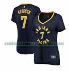 Camiseta Malcolm Brogdon 7 Indiana Pacers icon edition Armada Mujer