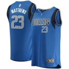 Camiseta Wesley Matthews 23 Dallas Mavericks Icon Edition Azul Nino