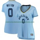 Camiseta De'Anthony Melton 0 Memphis Grizzlies statement edition Azul Mujer