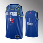 camiseta Devin Booker#1 nba all star 2020 azul