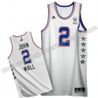 camisetas baloncesto john wall #2 nba all star 2015 blanca