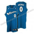 camiseta nba gilbert arenas #0 washington wizards azul