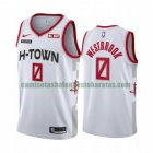 Camiseta Russell Westbrook 0 Houston Rockets 2020-21 Temporada Statement Blanco Hombre