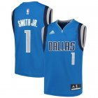 Camiseta Dennis Smith Jr 1 Dallas Mavericks adidas Azul Nino