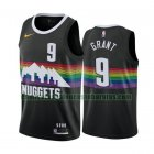 Camiseta Jerami Grant 9 Denver Nuggets 2020-21 Temporada Statement Negro Hombre