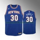 Camiseta Julius Randle 30 New York Knicks Azul Niño