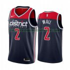 Camiseta John Wall 2 Washington Wizards 2020-21 Temporada Statement Azul Hombre