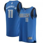 Camiseta Tim Hardaway Jr 11 Dallas Mavericks Icon Edition Azul Nino