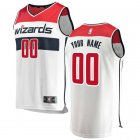 Camiseta Custom 0 Washington Wizards Association Edition Blanco Hombre
