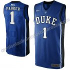 camisetas ncaa duke university jabari parker #1 azul