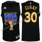 equipacion stephen curry #30 golden state warriors campeones 2014-15 negro