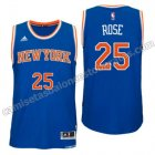 equipacion derrick rose 25 new york knicks 2016 azul