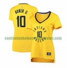 Camiseta Brian Bowen II 10 Indiana Pacers statement edition Amarillo Mujer