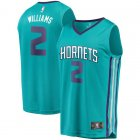 Camiseta Marvin Williams 2 Charlotte Hornets 2019 Azul Hombre