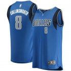 Camiseta Kyle Collinsworth 8 Dallas Mavericks Icon Edition Azul Nino