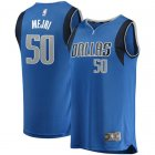 Camiseta Salah Mejri 50 Dallas Mavericks Icon Edition Azul Nino