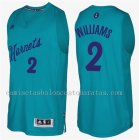 camiseta del charlotte hornets navidad 2016 marvin williams 2 verde