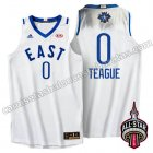 camisetas baloncesto jeff teague #0 nba all star 2016 blanca