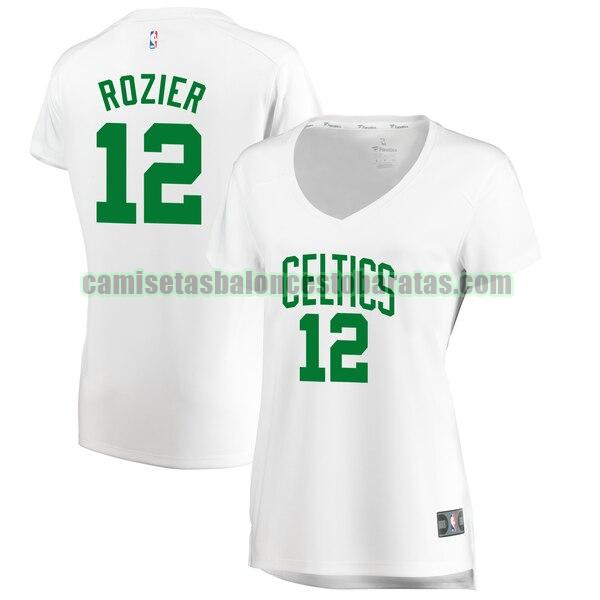 Camiseta Terry Rozier 12 Boston Celtics association edition Blanco Mujer