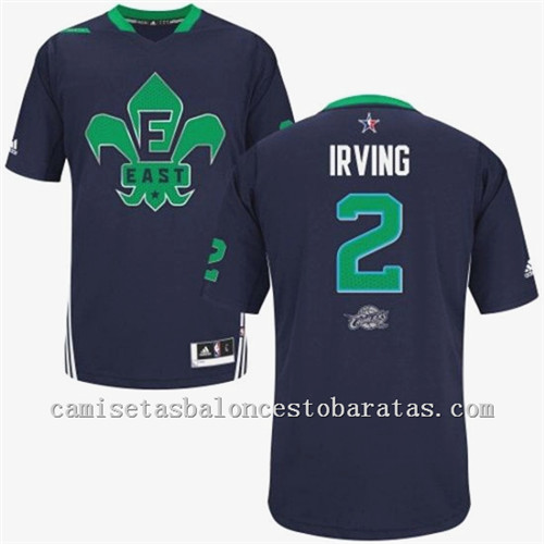 Camisetas Kyrie Irving 2 Nba All Star 2014 Azul