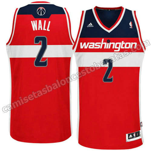 equipacion john wall #2 washington wizards revolucion 30 roja
