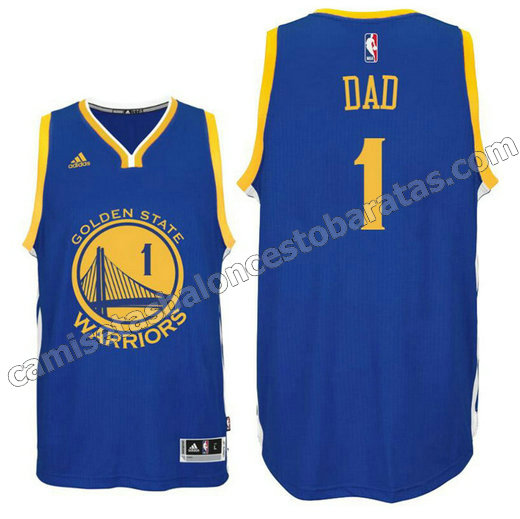 plantilla dad logo 1 golden state warriors 2016 azul