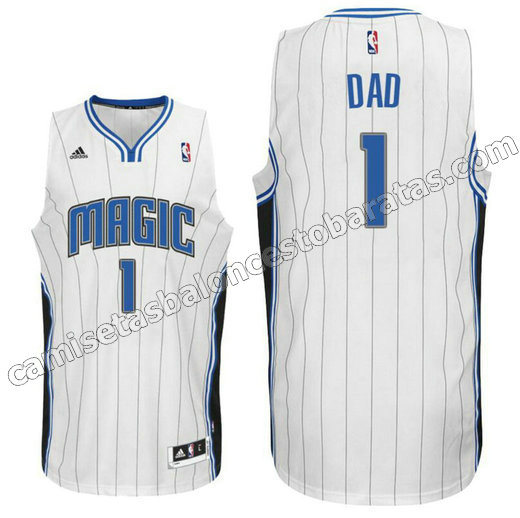 Camisetas NBA mcgrady 1 Retro Orlando magic blanco barata