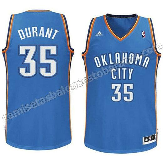 camisetas de baloncesto con equipo oklahoma city thunder baratas