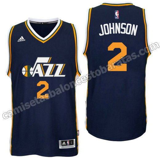 camisetas baloncesto joe johnson 2 utah jazz 2016 armada