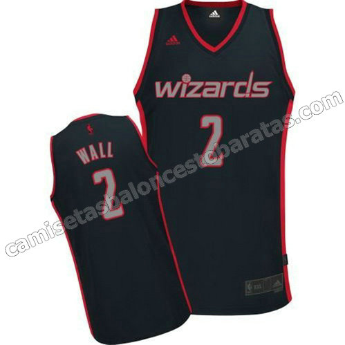 camiseta john wall #2 washington wizards moda graystone