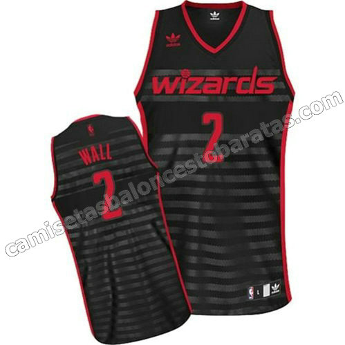 camiseta washington wizards con john wall #2 moda groove