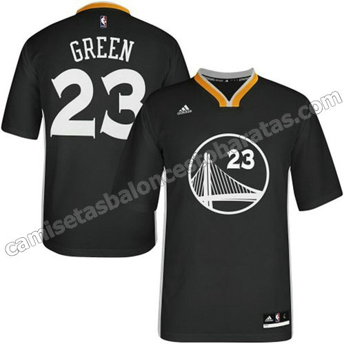 camisetas nba draymond green #23 golden state warriors 2014-2015 negro