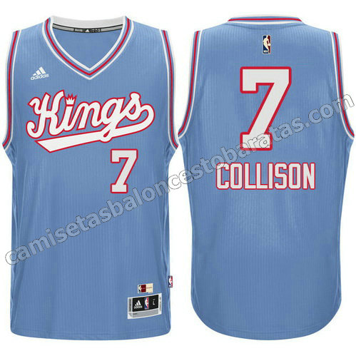 camiseta darren collison #7 sacramento kings 198#5-1986 retro