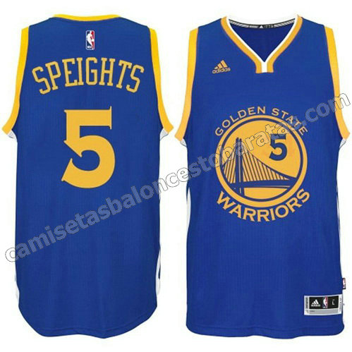 camiseta marreese speights #5 golden state warriors 2014-2015 azul