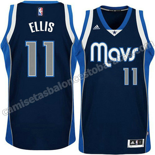 camiseta monta ellis #11 dallas mavericks armada azul