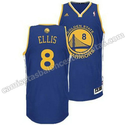 camiseta monta ellis #8 golden state warriors revolucion 30 azul